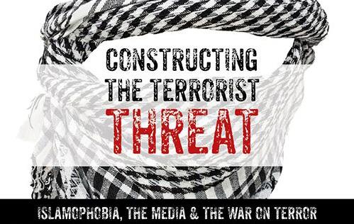 Title scene from Constructing the Terrorist Threat