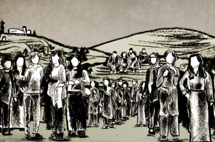 Scene from Naila and the Uprising