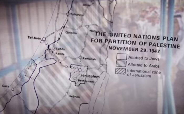 Banner for Roadmap to Apartheid film