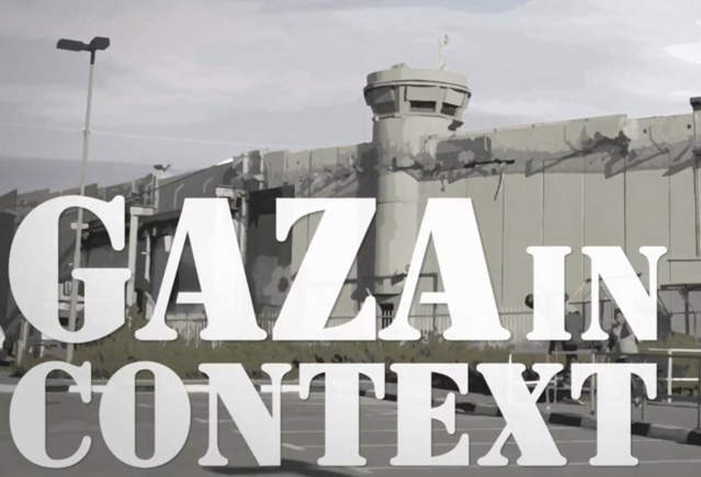 Title image from Gaza in Context
