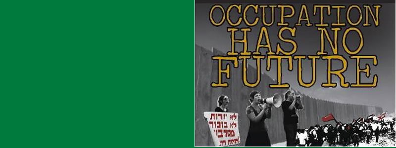 banner for Occupation Has No Future