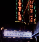 The Little Theatre at night